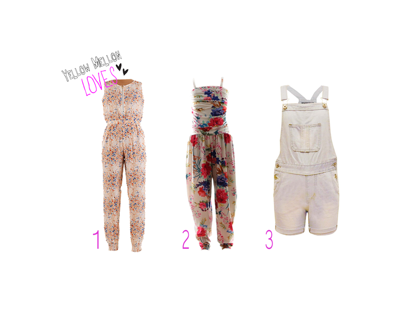 Girls Jumpsuits Playsuits
