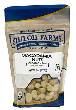 Shiloh Farms Organic Macadamia Nuts