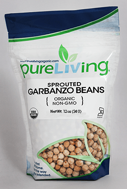 PureLiving Sprouted Garbanzo Beans