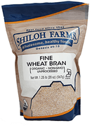 Shiloh Farms Organic Fine Wheat Bran, 20 oz. pouch