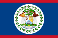 Belize Courtesy Flag