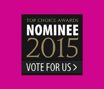 Top Choice Awards 2015 Nominee
