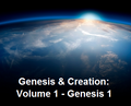 Genesis & Creation -- Set 1: Genesis 1 (31 mp3 downloads)