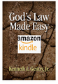 God's Law Made Easy (Kindle format)