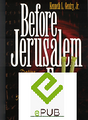 Before Jerusalem Fell (EPub format)