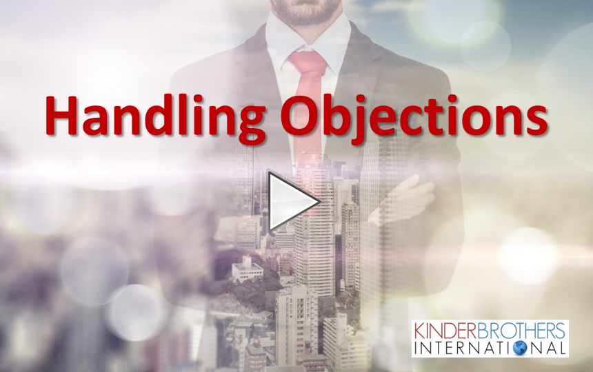 Handling Objections Video