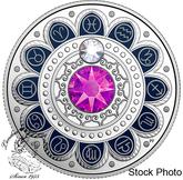 Canada: 2017 $3 Zodiac Pisces Silver Coin