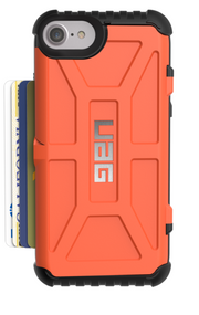 UAG Trooper Card Wallet Case iPhone 7 - Rust