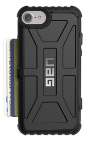 UAG Trooper Card Wallet Case iPhone 7 - Black