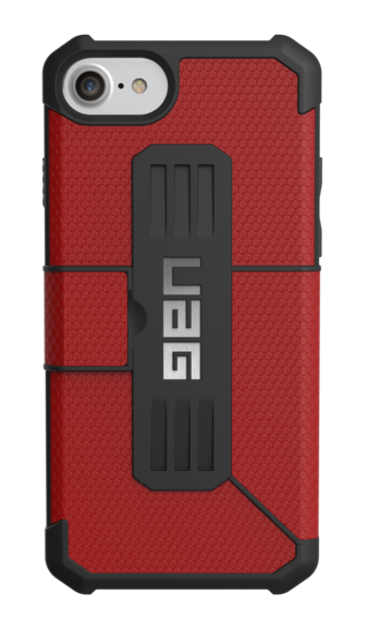 UAG Metropolis Folio Wallet Case iPhone 7 - Magma