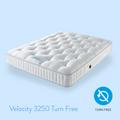 Harrison Spinks Mattresses - Velocity 3250 medium support turn free
