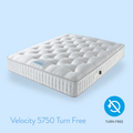Harrison Spinks Mattresses - Velocity 5750 Firm Support Turn Free