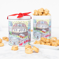 Cheddar Cocktail Cookie in TN Tin