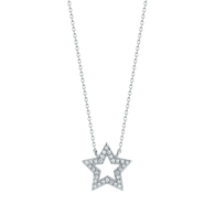 Dana Rebecca Diamond Star Necklace