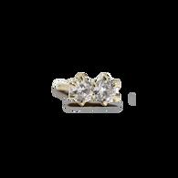 Duo Diamond Earrings