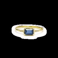 ILA Blue Sapphire Ring