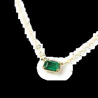 ILA Green Emerald Necklace