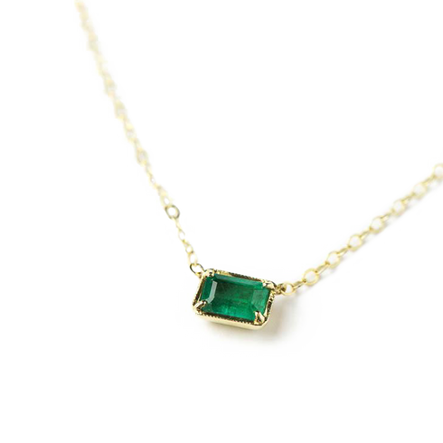 ILA Green Emerald Necklace