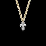 Lois Diamond Cross Necklace