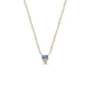 ILA Ble Sapphire Necklace