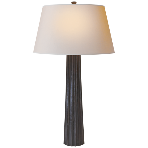 Large Fluted Lamp