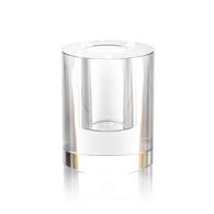 Emilia Round Crystal Vase