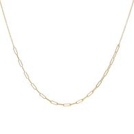 Luna Paperclip Chain Necklace
