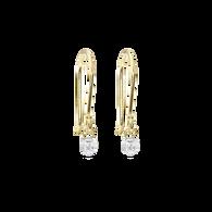 Meteor Shower Diamond Earrings