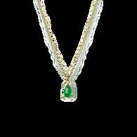Tellifer Emerald Necklace