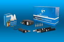 Electronic Cigarette Kit - EVOD Dual