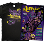 2017 H.P. Lovecraft Film Festival Poster & T-shirt Combo