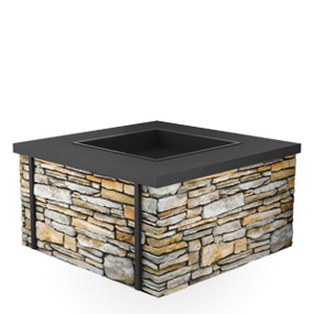 Quarrview Propan/Natural Gas Fire Pit