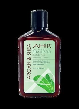 Amir Argan and Shea Moisturizing Sulfate-Free Shampoo - beautystoredepot.com