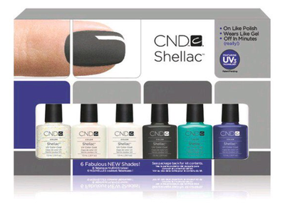 CND-Shellac Collection 6 Pack - beautystoredepot.com