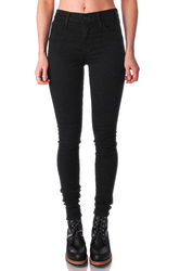 720 High Rise Super Skinny Jean Glam Black