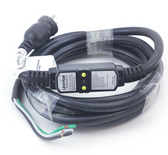 Leviton Spa Hot Tub 120 Volt GFCI Power Cord and Plug 20 Amp Plug with 15' Heavy Duty Cord