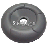 "Master Spa Diverter Valve Cap Gray For 2"" Valve Measures 3 3/4"" Diameter  X804181"