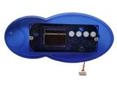 Artesian Spas Topside Control Panel # 33-0431-40 Fish Shaped LED 4 Button