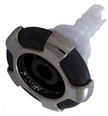 """23446-012-700 CMP Spa Jet 3.5"""" Directional Typhoon Crown Internal Gray/Stainless"""