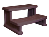 "Spa Step by Cover Valet Java Brown 31"" Width 400 lb. Capacity"