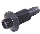 """2540-303 Jacuzzi Spa Drain Valve Assembly Drain On/Off 3/4"""" Barb x Garden Hose"""