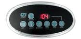 CTI Correct-Tech Spa Topside Control Panel Oval # 1-628-MS