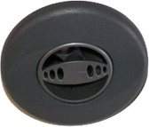 "Jacuzzi Jet Insert Mini Power Pro DX # 6540-766  3 1/4"""" Gray Fits : 2002-2003"