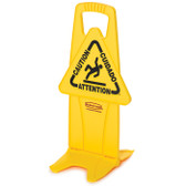 "FG9S0900YEL SEÑAL DE SEGURIDAD ""CUIDADO, CAUTION, ATTENTION"""