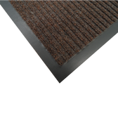 Tapete de alfombra Dual Rib color Chocolate