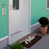 TAPETES PERSONALIZADOS AlproShop® | TAPETE DECORATIVO ELITE MAT DISEÑO HELLO CAFE