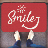 TAPETES PERSONALIZADOS AlproShop® |  TAPETE DECORATIVO ELITE MAT DISEÑO SMILE RED