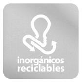 ETIQUETA DE VINIL AUTOADHERIBLE TRANSPARENTE PARA RESIDUOS INORGÁNICOS RECICLABLES NORMA AMBIENTAL CDMX