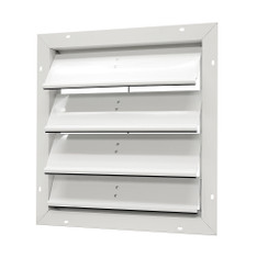 "Aluminum Gable Mount Automatic Shutter - 20"" (CLICK TO VIEW DETAILS OR CALL FOR FREE EXPERT ADVICE)"