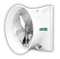 "Mega Storm 72"" Exhaust Fan With Cone 50,000 cfm @ .05"" SP 3 HP RPM 3 PH 